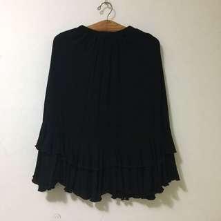 🚚 Pazzo黑色長裙 (尺寸s)