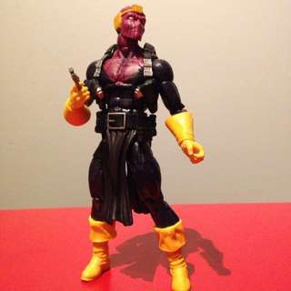 marvel legends 6 inch baron zemo (winter soldier wave)