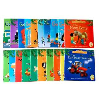20 Usborne books of Farmyard Tales and First Experiences