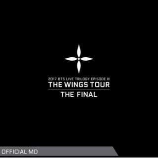 [Taking Order] BTS THE WINGS TOUR FINAL OFFICIAL MD