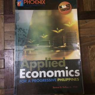 USED Applied Economics Book for Grade 12