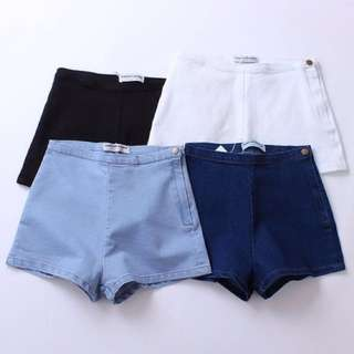 ✨ [PO] AA inspired Side Button Shorts