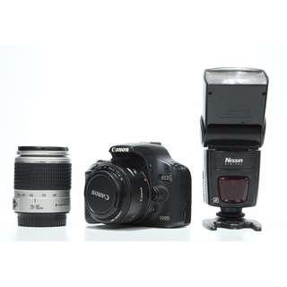 Canon EOS 500D + Canon 28-90mm f4-5.6 Lens