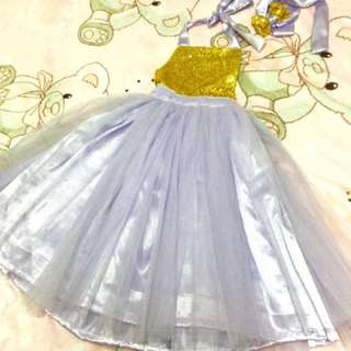 MTO CCGC tutu gown/dress for toddler/kids
