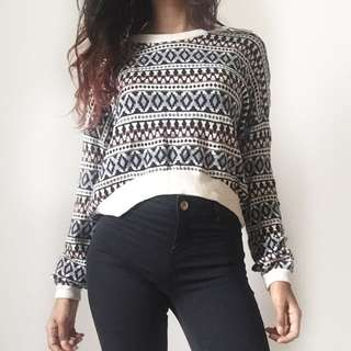 Cotton On tribal sweater