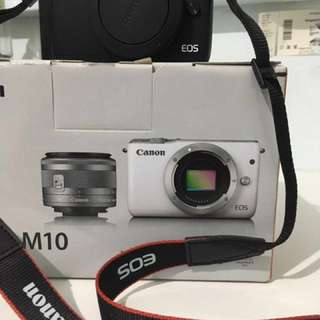 Canon EOS m10 black (Body only, no lens)
