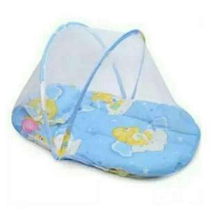 Baby mosquito net bed Blue