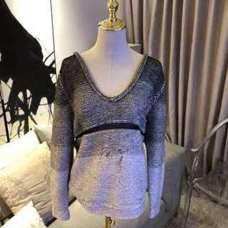 Helmut Lang for Intermix Oversize Sweater