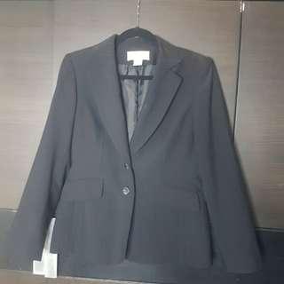 Jones new York black suit jacket