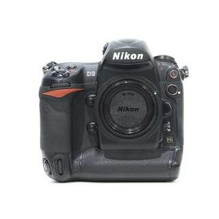 Nikon D3 Body (SC 17K+) 95% NEW