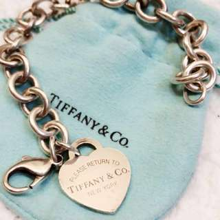 Tiffany chain bracelet