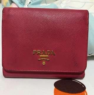Prada Wallet In Pink