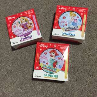 LIP SMACKER DISNEY PRINCESS LIP BALM TINS