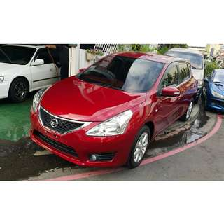 ❤️貴賓汽車 Nissan Tiida公里數超少❤️你可以以12年車價買到14年的車況❤️