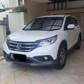 Honda CRV Putih Tahun 2013 Automatic 2400cc Bandung