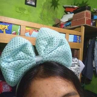 Bando Disney Blue polkadot