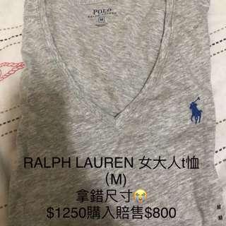 RALPH POLO T恤