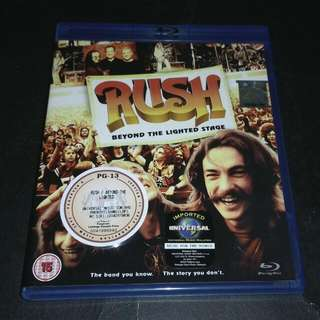 RUSH - BEYOND THE LIGHTED STAGE BLU-RAY DISC