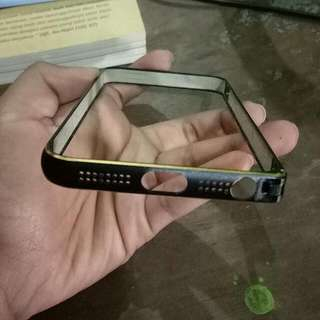 Ring Case Iphone5s Black Gold