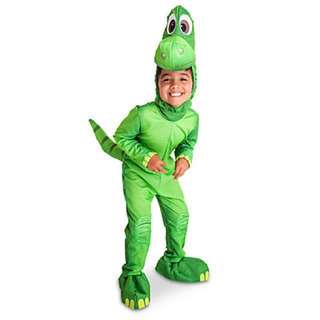 Disney  1 Store Deluxe Arlo The Good Dinosaur Costume Kids Size 3-4years