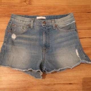 Denim Shorts- 7 of mankind