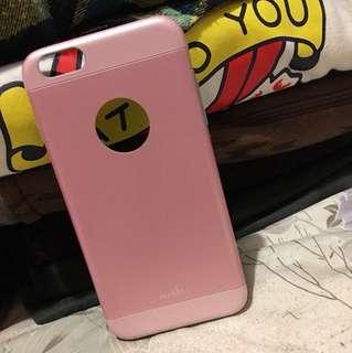 🚚 粉色 i Phone 6 plus 5.5 手機殼 moshi