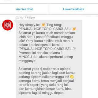 Thank You @carousell 😘 #3rd