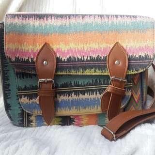 Aztec Satchel Bag