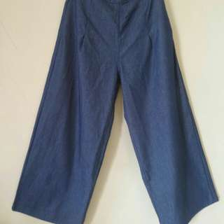 Reprice ! Kulot DENIM (NEW)