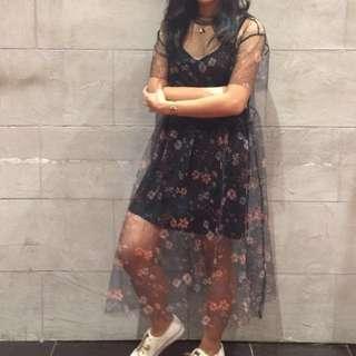 Mango - Tulle Dress