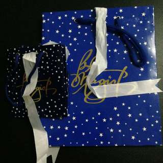 Blue Magic paper bags