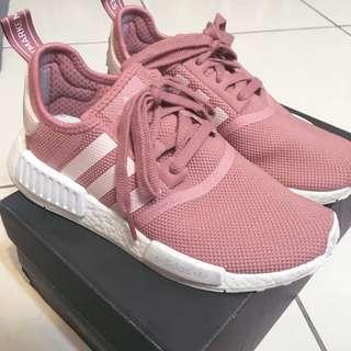 Adidas NMD R1 粉色 23cm