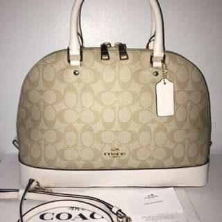 Auhentic Coach dome satchel bag