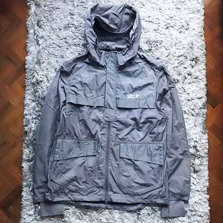 ⚡️Li-Ning Grey Windbreaker Jacket (Authentic)