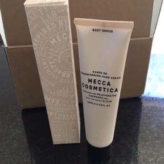 Mecca hand cream