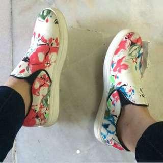 floral slip on