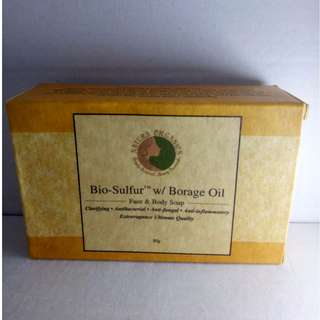 Natura Organics Bio-Sulfur with Borage Oil Soap