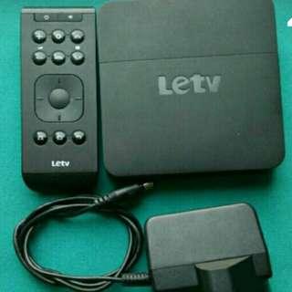 樂視 Letv 電視盒子 4K android box (可作router、睇波、睇電影)