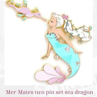 Light blue mermaid