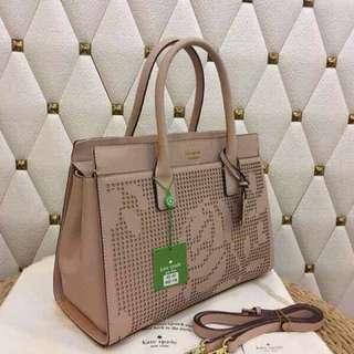 Kate Spade ♠️ Perforated Tote Bag