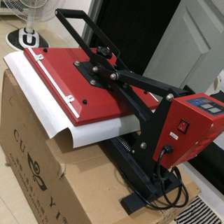 Heat Press Cuyi Machine 15x15