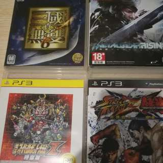 Ps3 game 共4隻