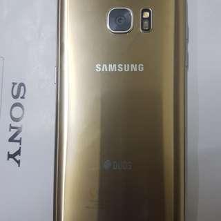 Samsung 7edge Golden