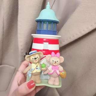 東京迪士尼代購 Duffy & Shelliemay 海洋燈塔 糖果盒 置物盒 絕版 現貨面交