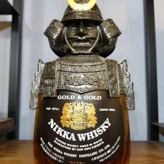 (冇盒)Nikka WhiskyGold & Gold 武將版 余市蒸餾所