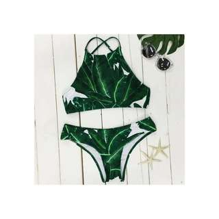 Two piece string swimsuit