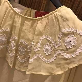 設計師品牌雪紡洋裝(保留)