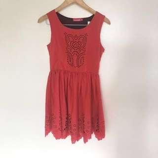 BADO Red Dress