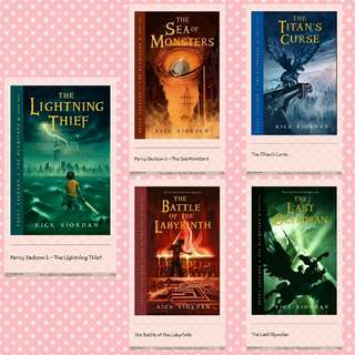 1php Ebook! Percy Jackson