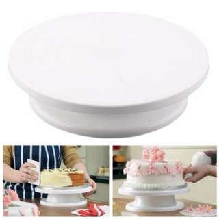 28cm Diameter Cake Rotating Decorating Stand